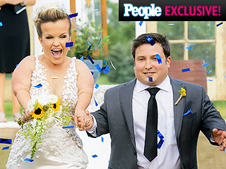 Inside Terra Jolé and Joe Gnoffo's Country Chic Wedding (PHOTOS)