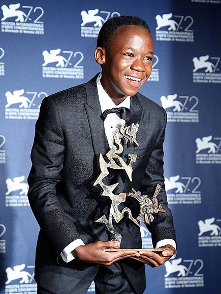 Abraham Attah award at Venice International Film Festival