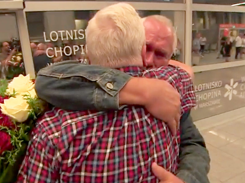 Twins Separated at Birth Reunite After 68 Years Apart