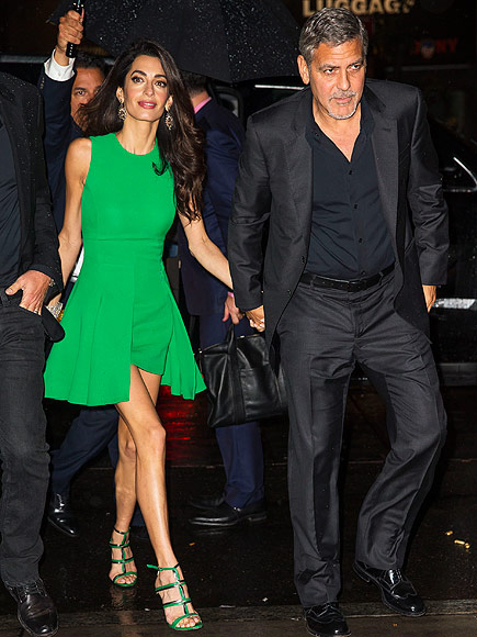 George clooney on his and amal s one year anniversary we sure are
