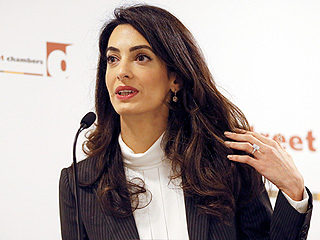 Amal Clooney Urges Action over the Maldives: 'The Noose Around Free Speech Is Tightening by the Day'