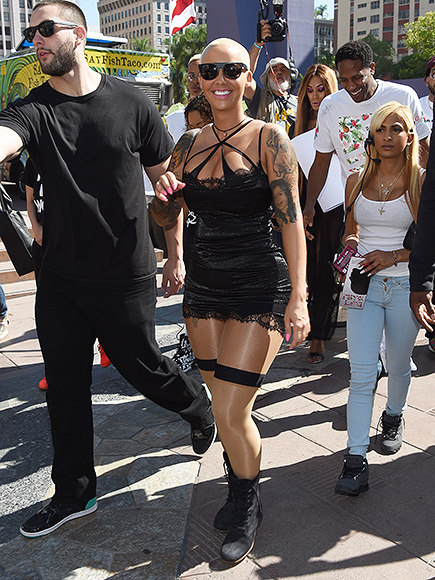 Amber Rose's SlutWalk in LA: Photos