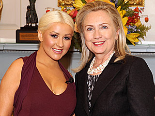 What a Voter Wants: Christina Aguilera Will Host – and Sing at – a Fundraiser for Hillary Clinton