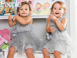 Meet the Twins Who Star as John Stamos' Granddaughter in Grandfathered