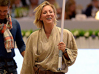 Kaley Cuoco Goes Full Jedi During Horse-Riding Competition for Charity, One Week After Announcing Divorce