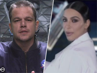 Matt Damon Is 'Stuck on Uranus' in The Martian Spoof Trailer with Kim Kardashian West