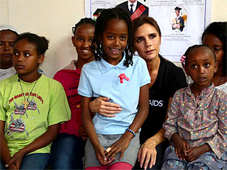 Victoria Beckham Visits Ethiopia for UNAIDS Trip: See Her Touching Photos
