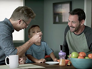 Gay Couple and Their Adorable Son Keep Starring in Ads Together – Watch Their Latest for Campbell's Soup