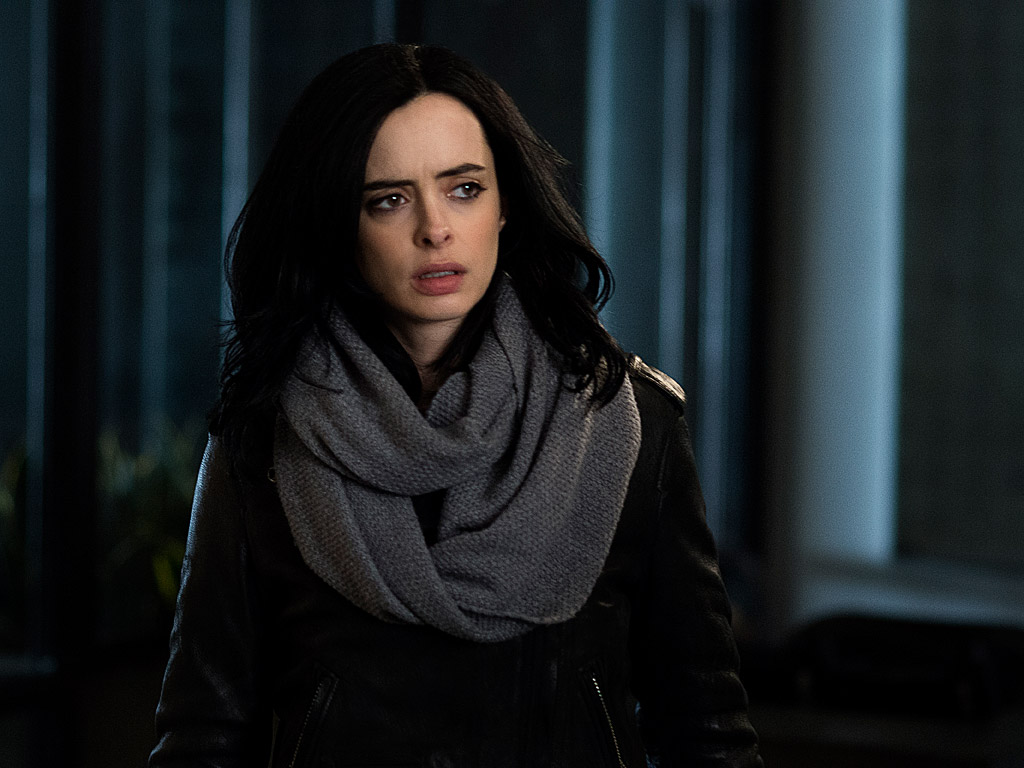 Jessica Jones' Krysten Ritter Never Thought She'd Play a Superhero