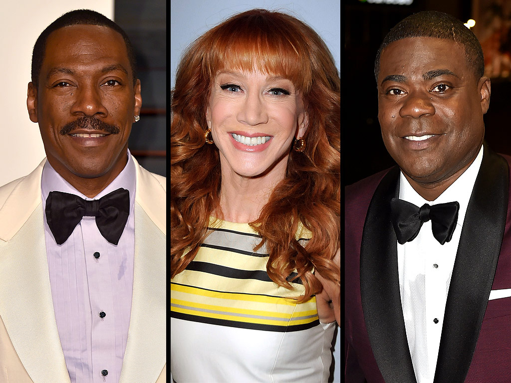Kathy Griffin Talks Watching Tracy Morgan Saturday Night Live with Eddie Murphy
