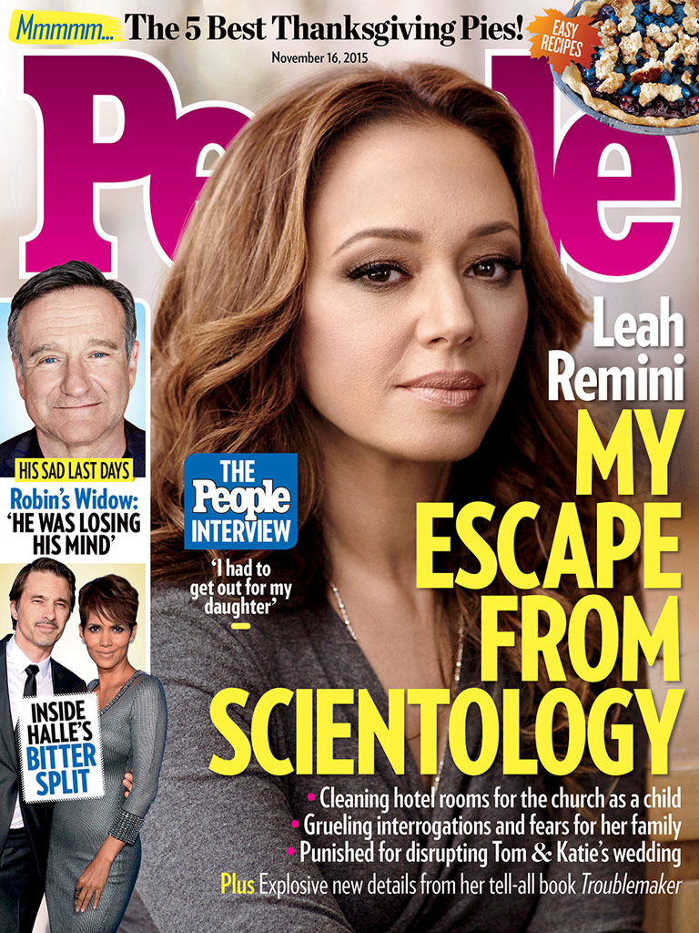 Leah Remini Opens up to PEOPLE About Leaving Scientology