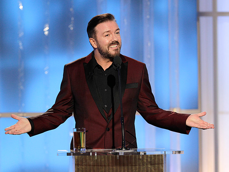 Ricky Gervais to Host Golden Globes 2016