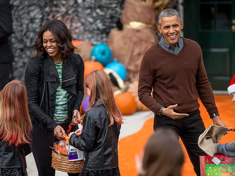 Trick or Treating At the White House!