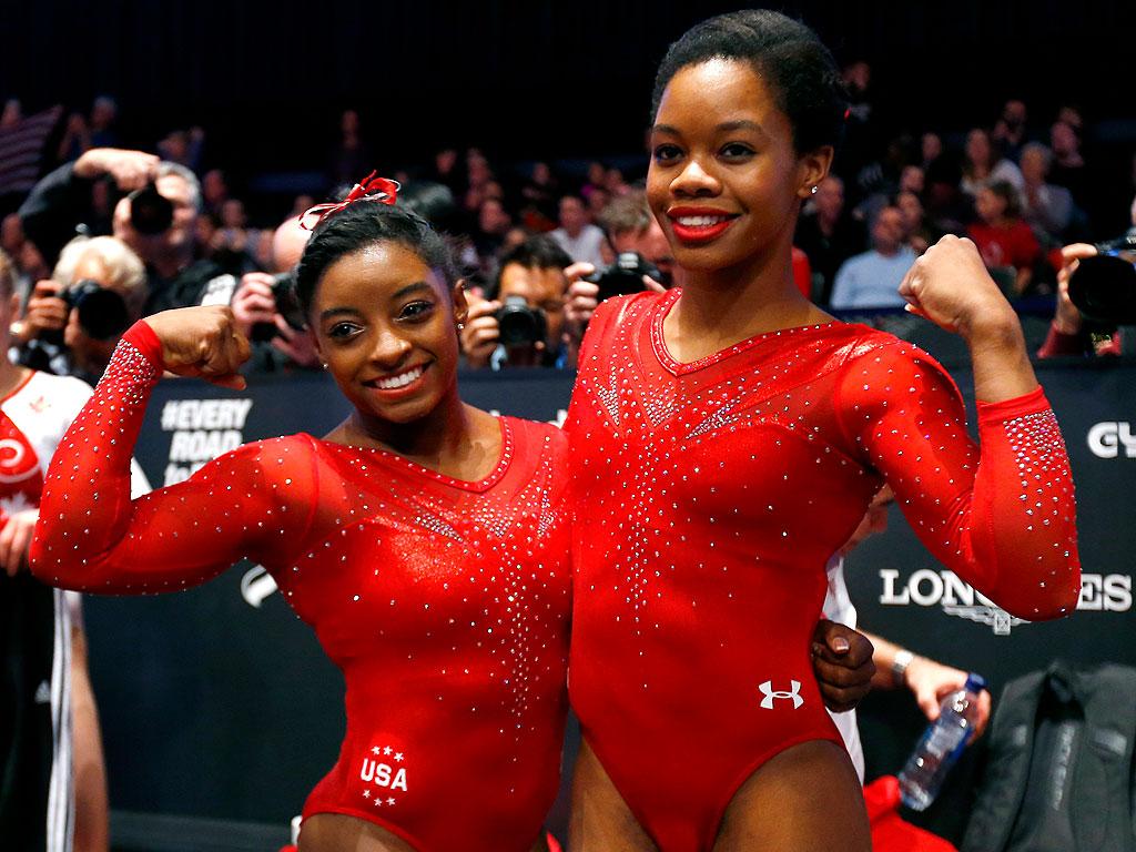 Gabby Douglas Simone Biles Just Ruled The Gymnastics