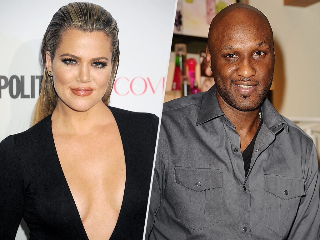 Lamar Odom Spending Super Bowl with Kim and Khloe Kardashian