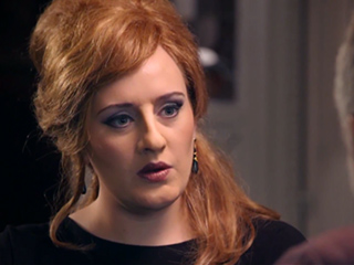 FROM EW: Adele Impersonator Reveals Behind-the-Scenes Details of the Singer's Viral Sketch