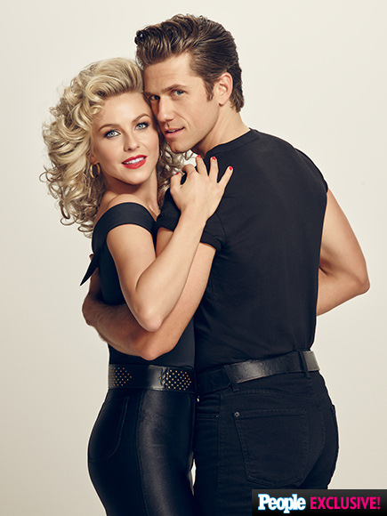Grease Live Photos: Julianne Hough, Vanessa Hudgens and Aaron Tveit