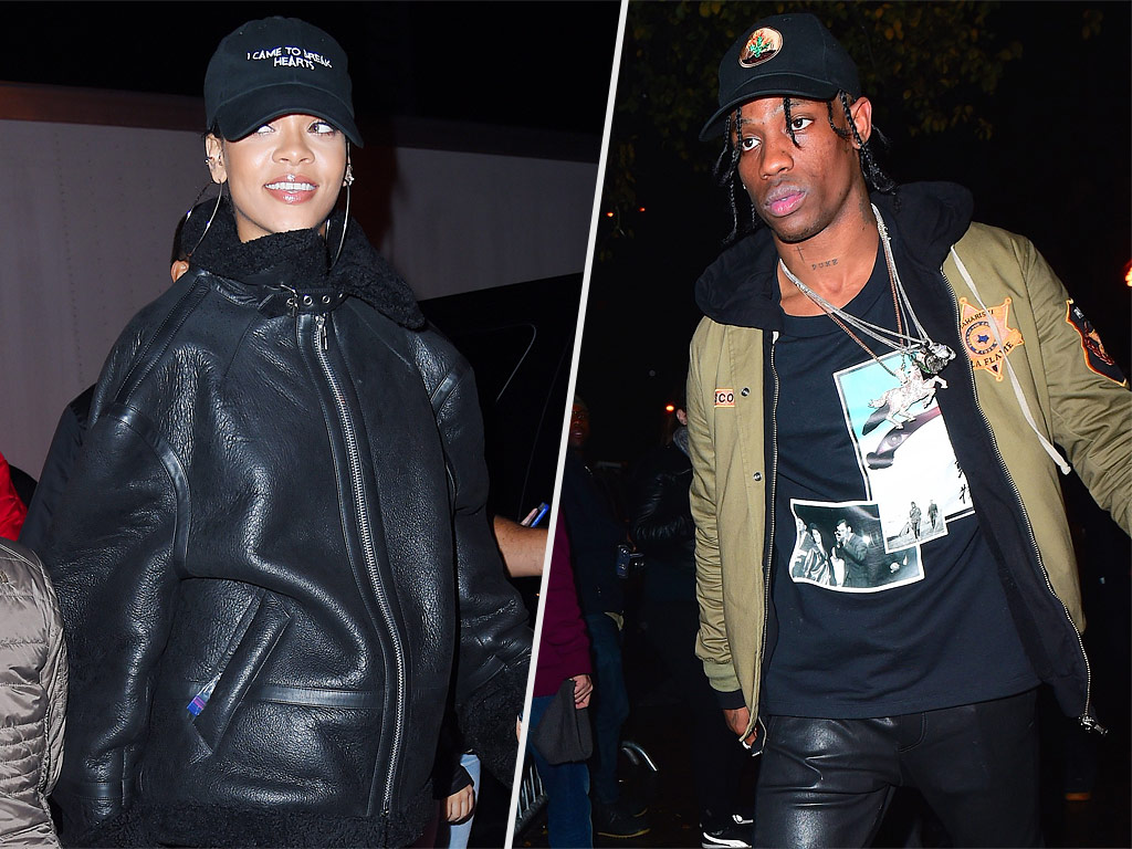 Rihanna and Travis Scott Enjoy 'Steamy' Date Night After His Show with The Weeknd