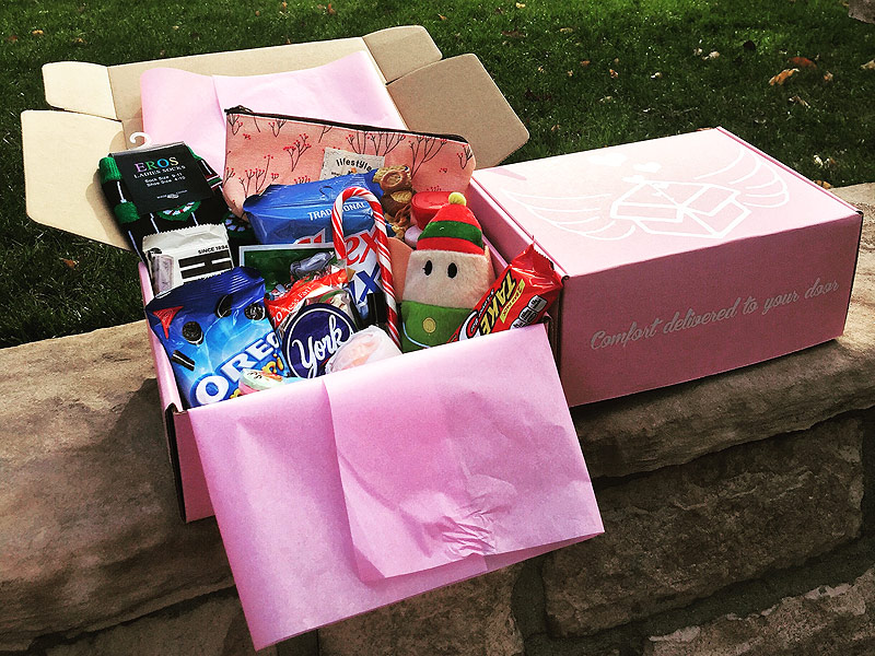 The Pms Package Monthly Gift Box Brings Comfort To Girls