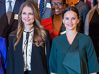 Baby Bump! Pregnant Princess Sofia of Sweden Steps Out at Global Child Forum