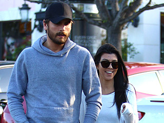 Kourtney Kardashian and Scott Disick Step Out for Lunch in Calabasas Ahead of Thanksgiving