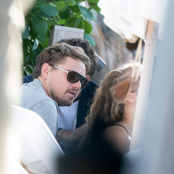 Leonardo DiCaprio Attends Miami Art Festival, Parties with Lenny Kravitz