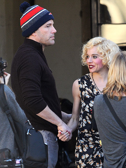 Ben Affleck & Sienna Miller Not Having On-Set Romance: Source
