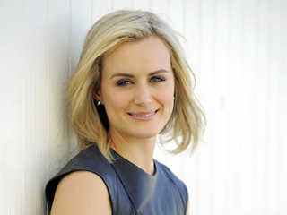 Orange Is the New Black's Taylor Schilling: My Happy Life Now