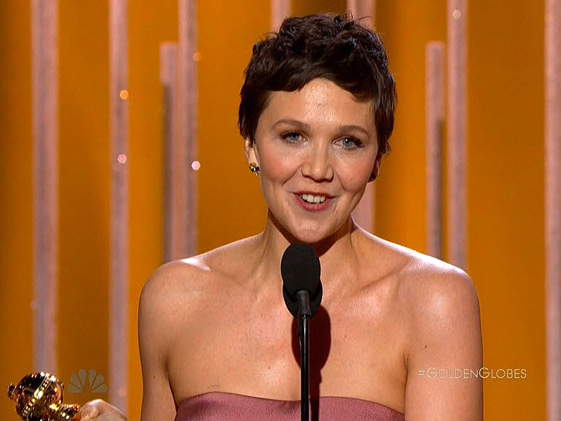 Maggie Gyllenhaal Wins the Golden Globe for Best Actress in a Mini ...