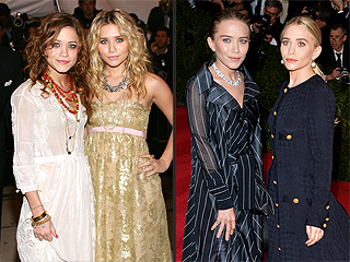 Every Olsen Twin Met Gala Look (Spoiler: They're All Amazing)   Ashley Olsen, Mary-Kate Olsen