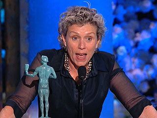 Frances McDormand Wins SAG Award for Best Actress in a TV Movie or Miniseries