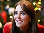 Princess Kate Rocks! The Royal's Merry Day Out Involves Drums, Christmas Trees and Lots of Hugs