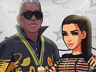 Kim Kardashian Adds a Non-Family Member to Her Mobile Game (Plus,