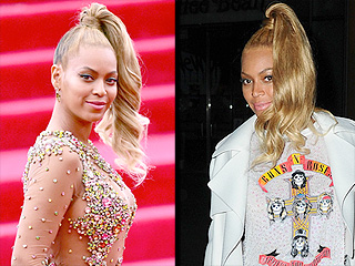 Beyoncé's Met Gala Ponytail Looks Flawless the Morning After