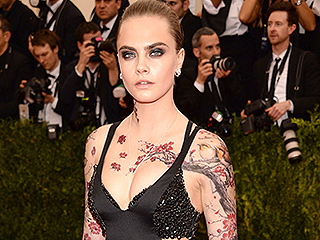 Cara Delevingne Accessorizes Her Met Gala Look with Tattoos: See Her Ink!
