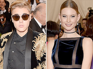 Met Gala Rebels Justin Bieber and Behati Prinsloo Break the Selfie Ban