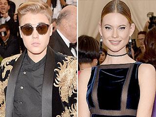 Met Gala Rebels Justin Bieber and Behati Prinsloo Break the Selfie Ban