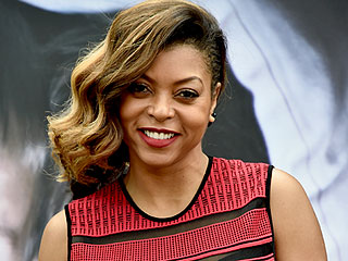 Taraji P. Henson Has Purple Hair!