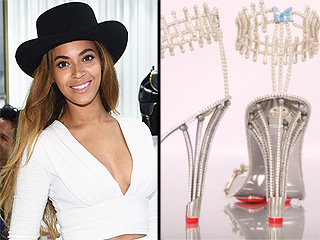 What Do $312,000 Shoes Look Like? Let Beyoncé Show  You
