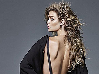 Gigi Hadid Wears Backless Gown, Goes Topless in Revealing New Shoot (PHOTOS)
