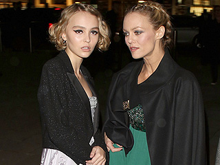 This Is How Lily-Rose Depp and Mom Vanessa Paradis Do Black Tie