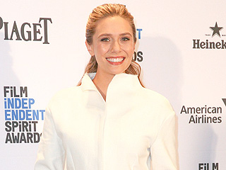 Elizabeth Olsen Wears Wedding-Ready White Suit Days Before Her Big Sister Mary-Kate's Nuptials