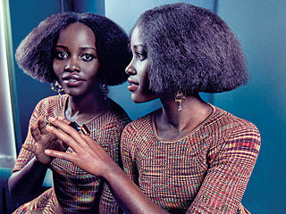 Lupita Nyong'o Tries a New Hairstyle on the Cover of Rhapsody Magazine