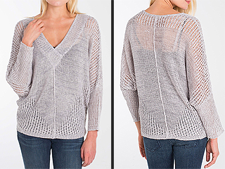 Trend to Try: Slouchy Dolman-Sleeve Sweaters