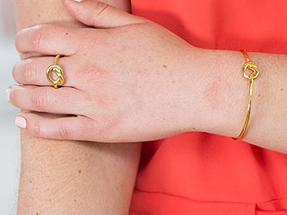 Shop the Knotted Ring and Cuff Set Celebs Love