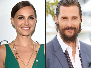Watch Natalie Portman and Matthew McConaughey Play Our Word Association Game from Cannes