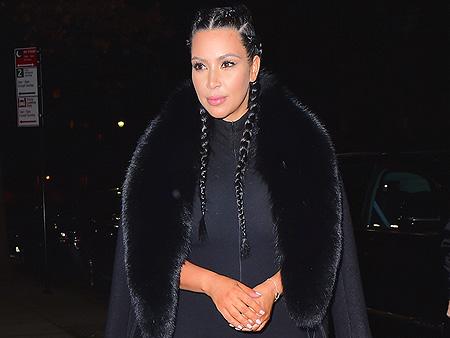 Kim Kardashian West Shows Off Post-Baby Body on Date Night with Kanye West
