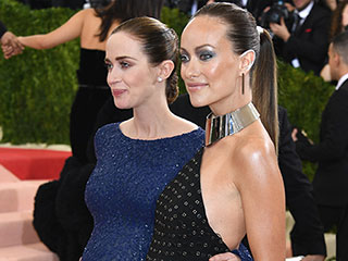 Pregnant Olivia Wilde Stuns in Michael Kors Collection at Met Gala