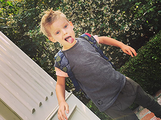 Who Ya Gonna Call?! Watch Hilary Duff's Son Luca Belt Out Ghostbusters Theme