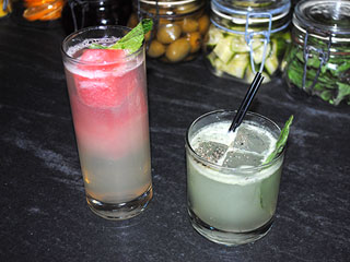 Alex Guarnaschelli Blogs: How to Up Your Cocktail Game (Think Watermelon Ice Cubes)
